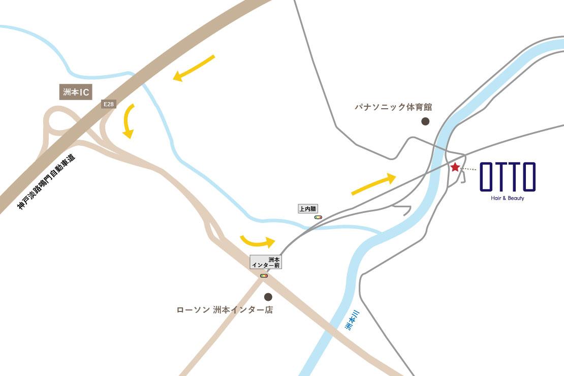 OTTO アクセスマップ